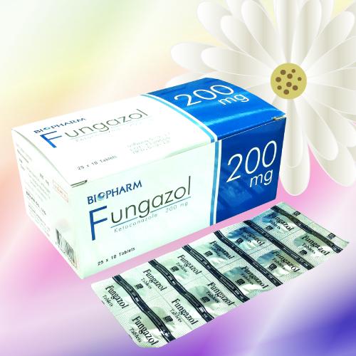 Fungazol (ケトコナゾール) 200mg