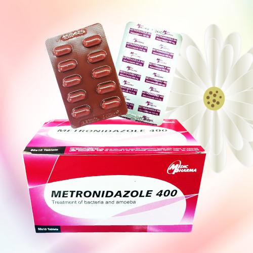 Metronidazole (メトロニダゾール) 400mg