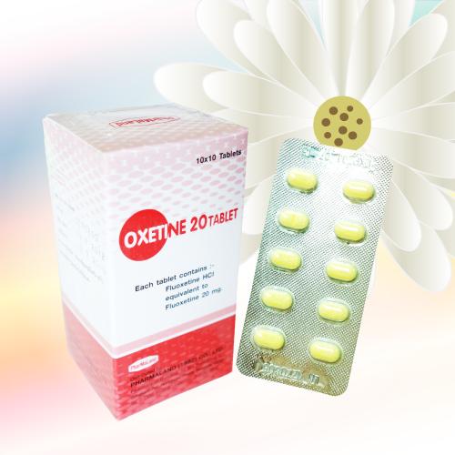 オキセチン/オキシチンタブレット (Oxetine 20 Tablet) 20mg
