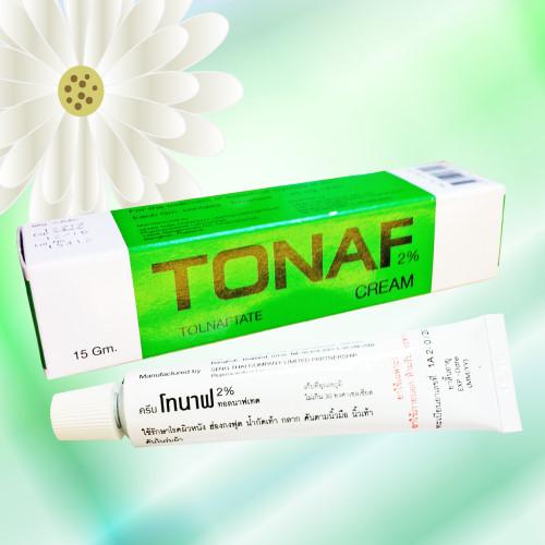 Tonaf (トルナフテート/トルナフタート) クリーム 2% 15g