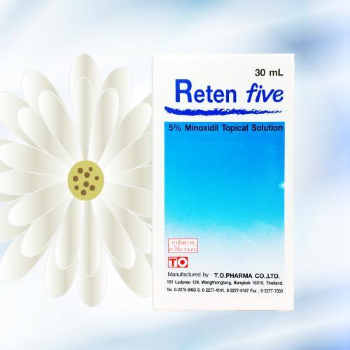 ミノキシジルローション (Reten Five) 5% 30mL
