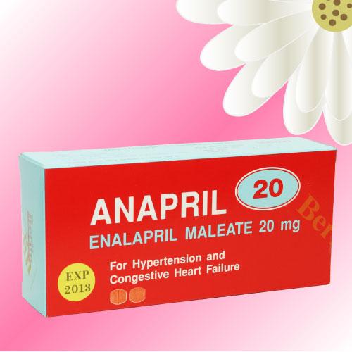 Anapril (エナラプリル) 20mg