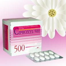 Ciproxyl (シプロフロキサシン) 500mg