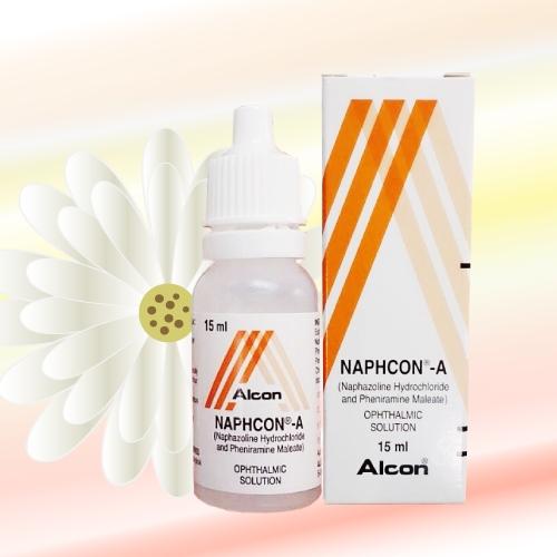 ナフコンA点眼液 (Naphcon-A) 15mL